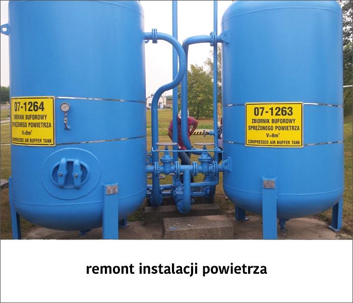 remont instalacji powietrza